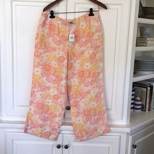 Jill cropped linen pants